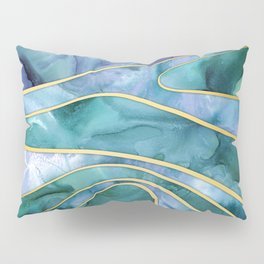 The Magnetic Tide Pillow Sham