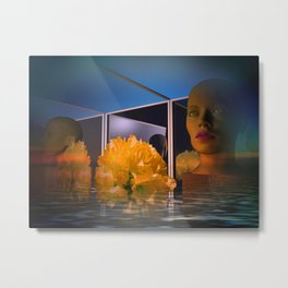 surrealistic showcase Metal Print