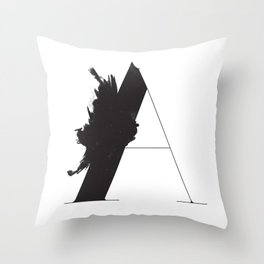 A is for Astronom Throw Pillow