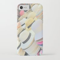 hats iPhone & iPod Cases featuring Hats by Eva Lesko