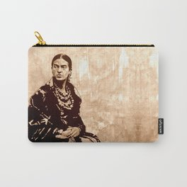 FRIDA - the mistress of ARTs - sepia version Carry-All Pouch