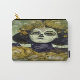 Day of the Dead Halloween Carry-All Pouch