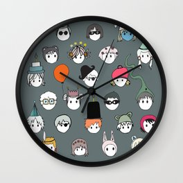Part Kids (grey) Wall Clock