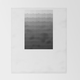 50 Shades of Gray Throw Blanket