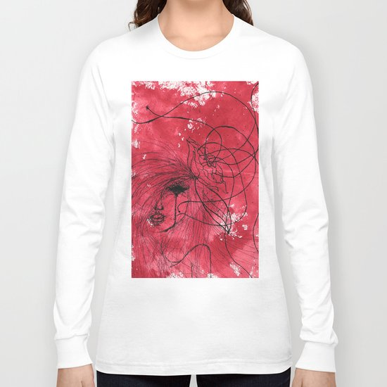 The Mean Reds Long Sleeve T-shirt