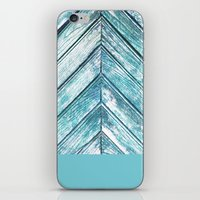 wooden iPhone & iPod Skins featuring WOODEN by Sorbetedelimon