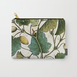 Leaves & Flowers Carry-All Pouch