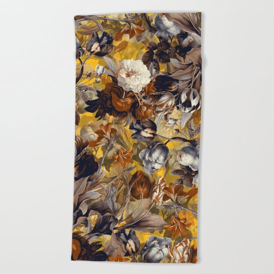 SUMMER BOTANICAL VII Beach Towel