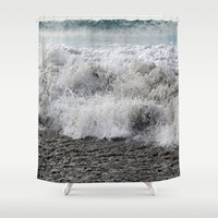 rush Shower Curtains featuring Rush by Dulcinee