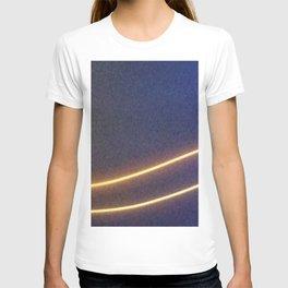 Abstracte Light Art in the Dark Version 41 T-shirt