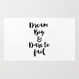 Dream Big & Dare to Fail Rug