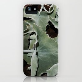 My fluffy leaves iPhone Case