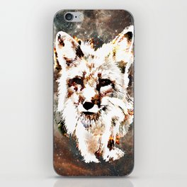Space Fox no4 iPhone Skin