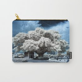 Infrared Blue Carry-All Pouch