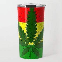 Rastafarian Flag Travel Mug