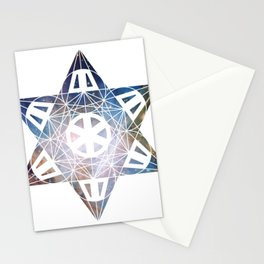 Metatron's Cube Time Wheel ~ Orion 2 Stationery Cards