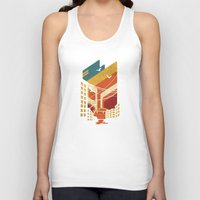 street art Tank Tops featuring Street by The Child