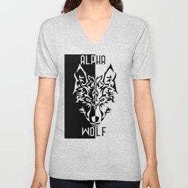 Alpha Wolf Unisex V-Neck