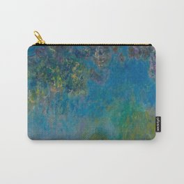 Claude Monet Wisteria Carry-All Pouch