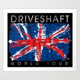 Driveshaft Art Print