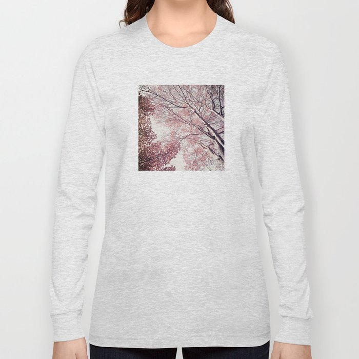 The Trees – Pink n' Bright Long Sleeve T-shirt