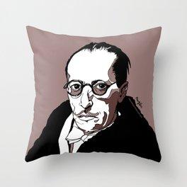 Stravinsky Russian Composer Portrait Art Wall Decor Home House Furniture Frame Music Musician Musica Throw Pillow