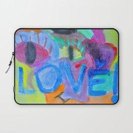 Summer Love | Painting by Elisavet Laptop Sleeve