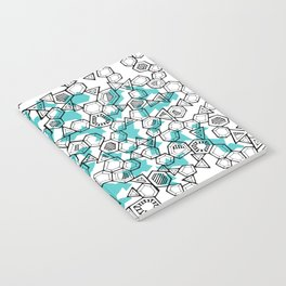 Oddgon and Angular Cluster in Turquoise Notebook