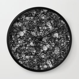 Baroque Macabre II Wall Clock