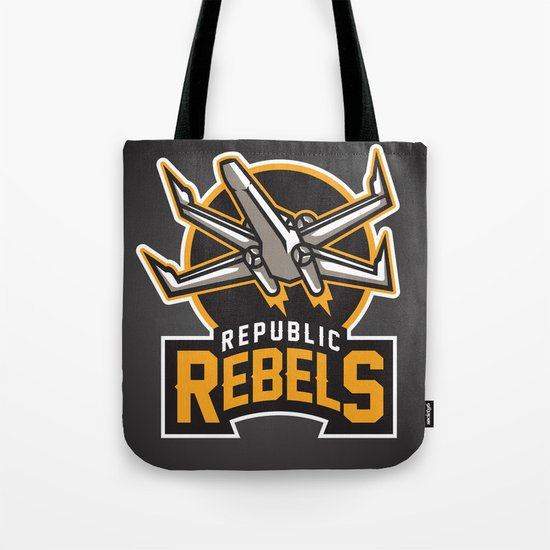 Republic Rebels - Black Tote Bag