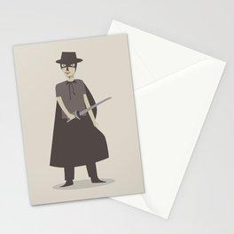 El Zorro Stationery Cards
