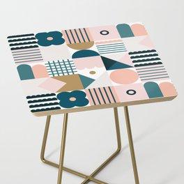 Flower Tile Side Table