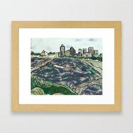 Bluff City Bliss Framed Art Print