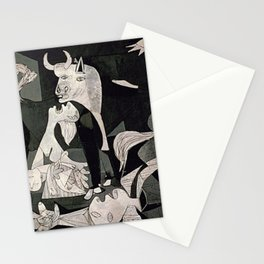 GUERNICA #1 - PABLO PICASSO Stationery Cards