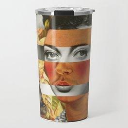 Frida Kahlo's Self Portrait with Parrot & Joan Crawford Travel Mug