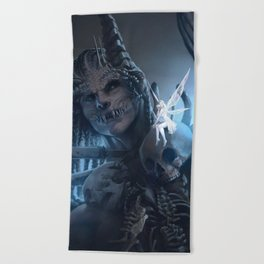 Tooth and Bone Beach Towel