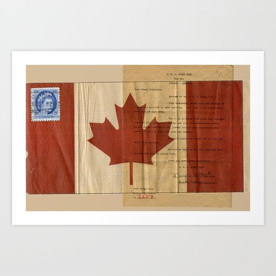 Dear Stamp Collector Art Print