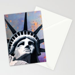 Welcome to New York Statue of Liberty Stationery Cards