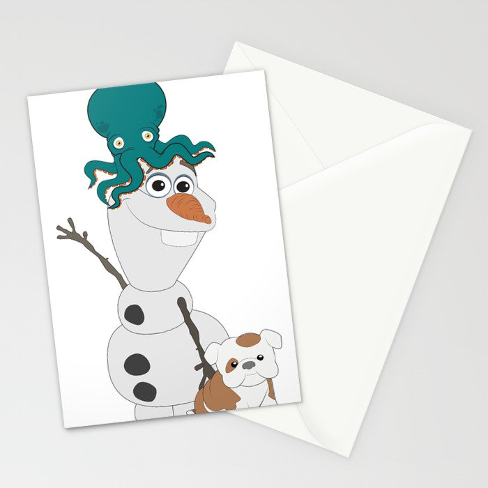 Olaf & Pals Stationery Cards