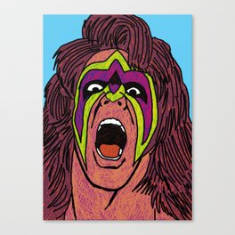 ultimate warrior Canvas Print