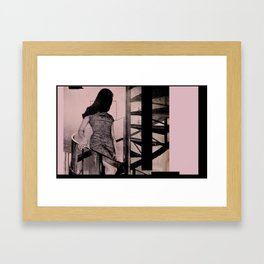 Entrance. Framed Art Print