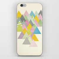 french iPhone & iPod Skins featuring French Alps by Cassia Beck