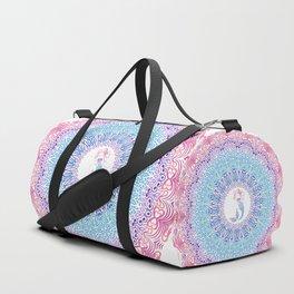 Tribal Mermaid Mandala Duffle Bag