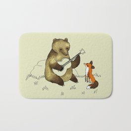 Bear & Fox Badematte