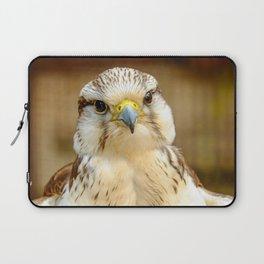 Gyrfalcon Falcon Closeup Laptop Sleeve
