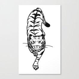 Tyger Club Canvas Print