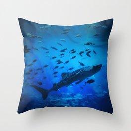 A Whale of a Teacher Throw Pillow