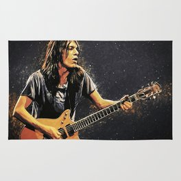 Malcolm Young Rug