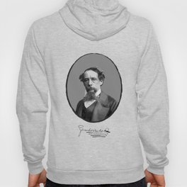 Authors - Charles Dickens Hoody
