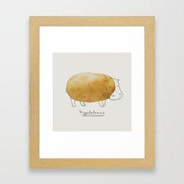 Hippotatomus Framed Art Print